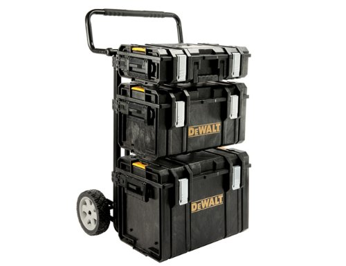 DeWalt Toughsystem Trolley  &  3 DS Tool Boxes DEW170349