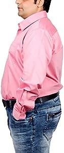 Xmex Men's Cotton Silk Regular Fit Shirt