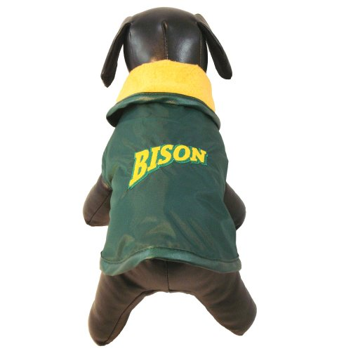 NCAA North Dakota State Bison All Weather Resistant Protective Dog Outerwear, Large at Amazon.com