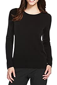 Round Collar Gem Embellished Jumper [T38-7151-S]