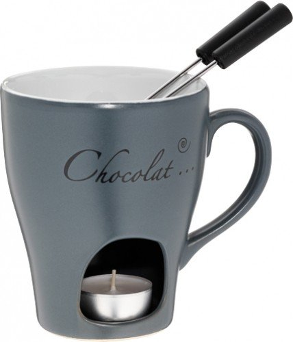 1A-handelsagentur Chocolat fondue fondue de chocolat, Alma 'Gr Alma Kera. 3tlg. 11813