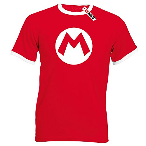Mario Logo Ryware T-Shirt (Medium - 38-40