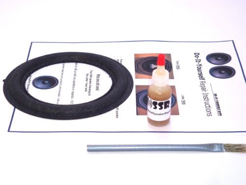 "Jbl 6"" Speaker Foam Surround Repair Kit - Toyota, Lexus, Cadillac, Mark Levinson - 6 Inch"