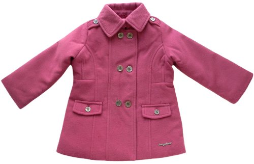 "Save Price Baby Phat ""Rose Pink"" Infant Girls Pea Coat (24M)"