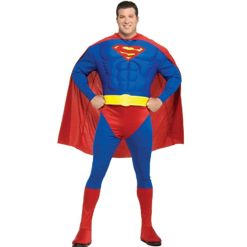 Muscle Chest Superman Plus Costume