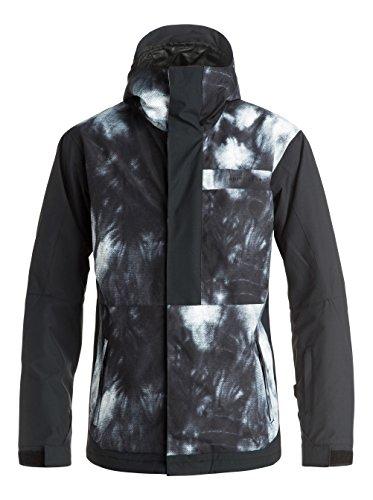 Ambition Tempeta Quiksilver-Giacca da sci, da uomo, colore: nero, taglia: L (taglia del produttore: L)