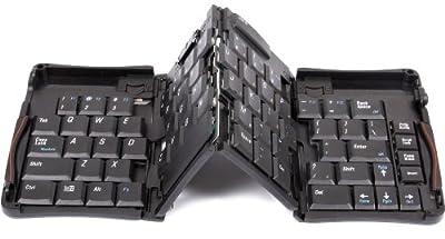 サンコー USB折り畳み式ミニキーボード USMINKBK <34695>