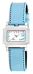 Maxima Attivo Steel Analog White Dial Womens Watch - 07036LMLI