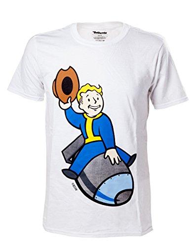Fallout 4 T-Shirt -M- Boy Bomber, weiss