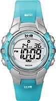 Timex Women's T5K460 1440 Sports Blue Resin Digital Watch from Timex