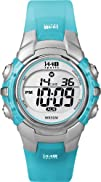 Timex Womens T5K460 1440 Sports Blue Resin Digital Watch