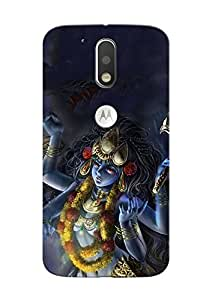 100 Degree Celsius Back Cover for Moto G plus 4th (Nav Durga Maa Special)