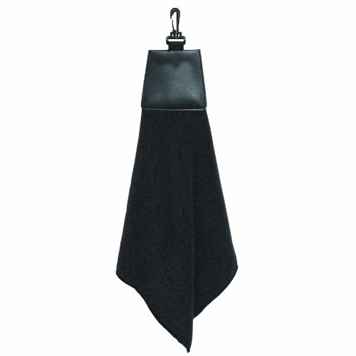 Bags for LessTM Golf Towel Black