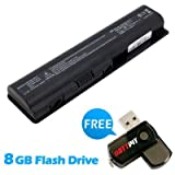 Battpit⢠Laptop / Notebook Battery Replacement for HP G70-212EM (4400mAh) with 8GB Battpit⢠USB Flash Drive