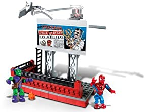 Mega Bloks - The Amazing Spider-Man Marvel Street Series: Green Goblin