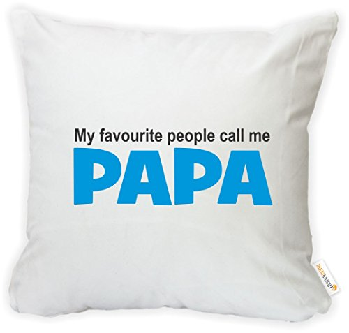 Rikki Knight My Favourite People Call Me Papa Microfiber Throw Décor Pillow Case Cushion Cover 16