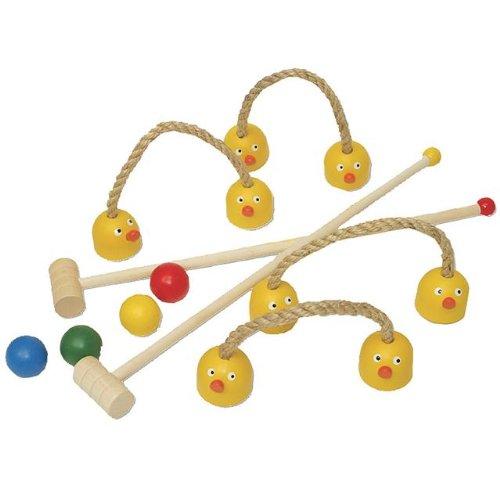 Sassafras / Wooden Ducky Mini Croquet Set