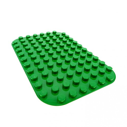 grüne Burg Grundplatte grün 12 x 8 Noppen Platte
