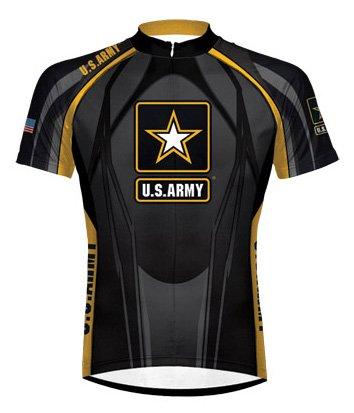 Buy Low Price Primal Wear Men's US Army Eleven Short Sleeve Cycling Jersey – ART1J20M (B004WXHBLM)