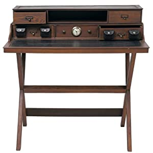 DESIGN WOODEN BUREAU COLONIAL Desk Office Furniture From XTRADEFACTORY Amazo