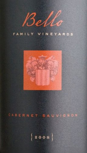 2008 Bello Family Vineyards Cabernet Sauvignon 750 Ml