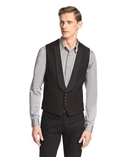 John Varvatos Collection Men's Shawl Lapel Vest
