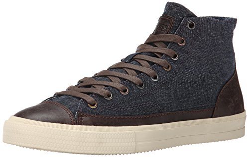 BOSS Orange by Hugo Boss Men's Trebid Fashion Sneaker, Dark Blue, 10 M US