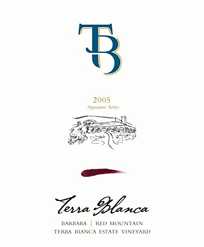 2005 Terra Blanca Signature Series Red Mountain Barbera 750 Ml