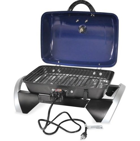 Electric Grill Portable Patio Cooker Barbecue Tabletop Tailgate Uniflame (Westbend Toaster Oven Parts compare prices)