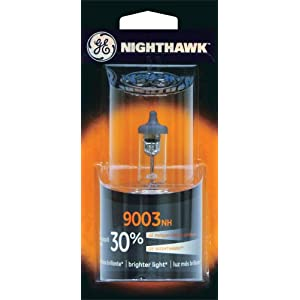 GE 9003NH/BP Nighthawk Automotive Replacement Bulb, Pack of 1