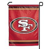 """NFL San Francisco 49ers WCR08384013 Garden Flag, 11"""" x 15"""""""