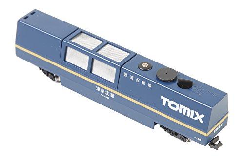 Tomytec-064251-Schienenreinigungswagen-Modelleisenbahnzubehr-blau