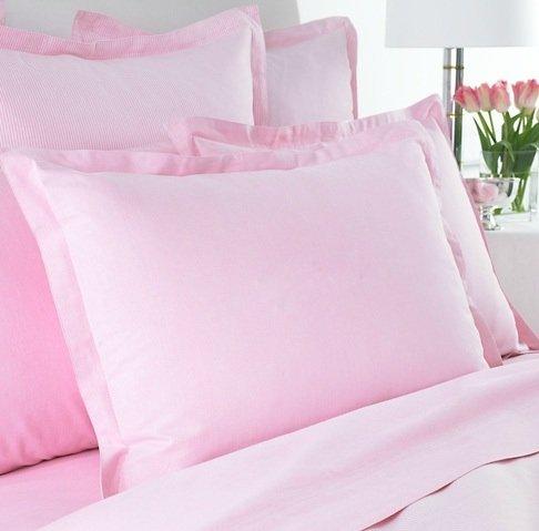 Lauren by Ralph Lauren Bedding University Pink Oxford Standard Sham