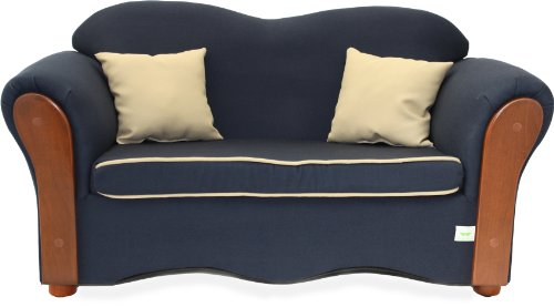 KEET Homey VIP Organic Sofa, Navy Blue