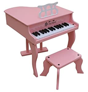 30-Key Fancy Baby Grand - Pink