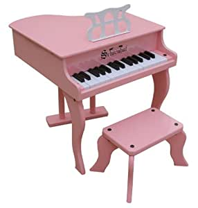 Schoenhut 30 Key Fancy Baby Grand - Pink
