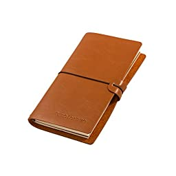 Journals to Write In - Leather Journal Refillable, Perfect for Writing, Gifts,Sketching, Professional, Diary, Notebook(Pen included)