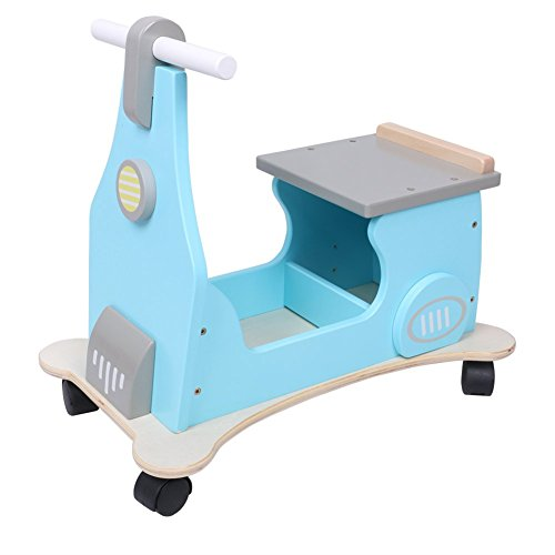 Hessie 1-3 Years Baby Ride On Toy With Small Storage - Blue front-336826