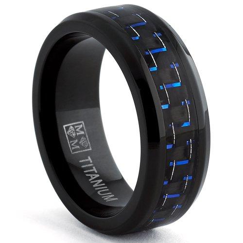 schwarz-herren-titan-ehering-mit-schwarz-und-blau-kohlefaser-einlagebequemlichkeit-passen-8mmgrosse-