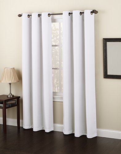 No 918 Montego 48 By 84 Inch Curtain Panel White Curtain Store