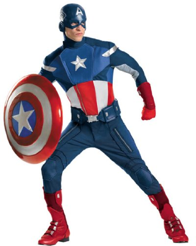 Captain America Avengers Movie Theatrical Costume