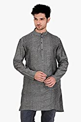 Veda Men Embroidered Long Kurta