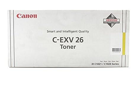 Canon Imagerunner C 1028 i - Original Canon 1657B006 / CEXV26 - Cartouche de Toner Jaune -