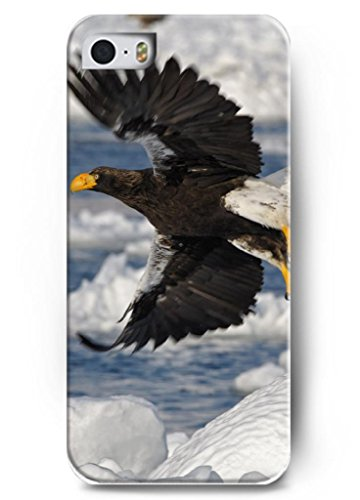 Ouo Stylish Series Case For Iphone 5 5S 5G With The Design Of Fierced Eagle Fly Through Ice Surface