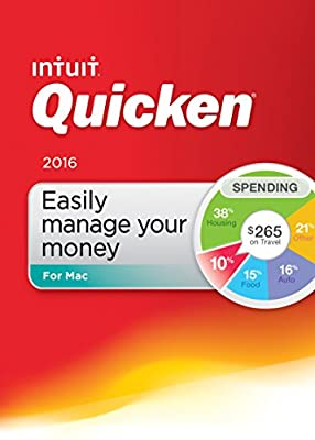 Quicken For Mac 2016 - CD or Download