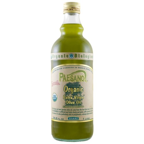 Paesano Organic Unfiltered Extra Virgin Olive Oil - 34oz by 