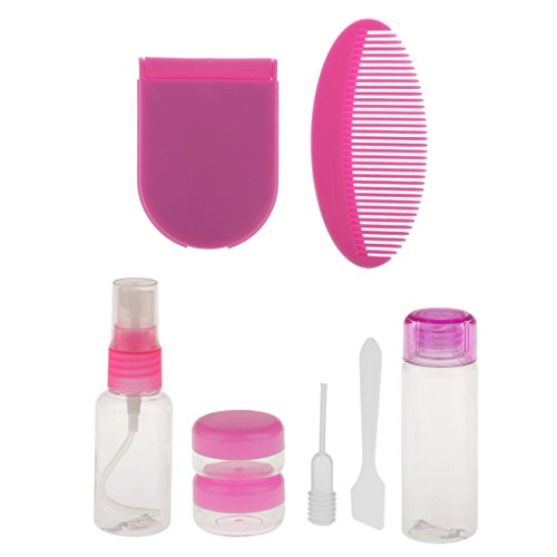 7pcs-bouteilles-cosmetiques-creme-lotion-voyage-bagage-peigne-miroir-sac-de-rangements-rose