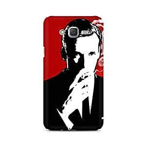 Ebby Suit and Cig Premium Printed Case For Samsung J5