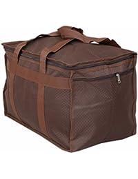 Kuber Industries Travel Duffle Bag Cum Attachi Bag- Ki19129- Brown