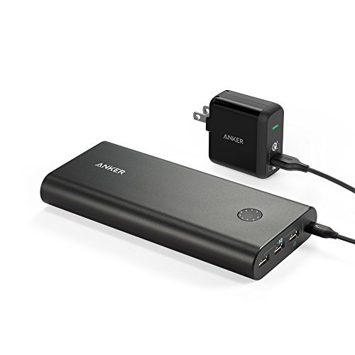 Anker-PowerCore-26800-Premium-Portable-Charger-High-Capacity-External-Battery-with-Qualcomm-Quick-Charge-20-and-PowerPort-1-with-Quick-Charge-30-Wall-Charger